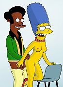 Dirty cheating Simpsons